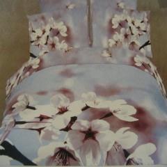 """Постельное белье 3D """"Цветы вишни"""""""
