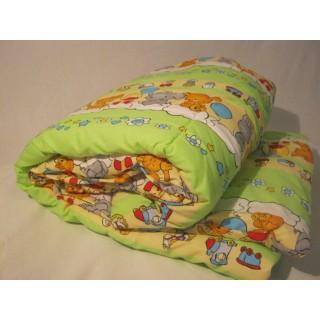 Детское одеяло в кроватку