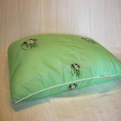 Подушка с бамбуковым наполнителем 40*60 см в полиэстере