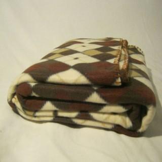 Плед флисовый в сумке