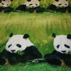 """Плед из микрофибры """"Панда"""""""