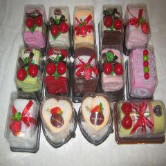 Десерты-подарки махровые