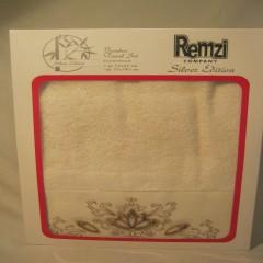 Набор бамбуковых полотенец Remzi Цветочек