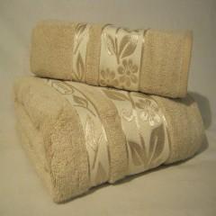 """Набор бамбуковых полотенец """"Кофейная нежность"""""""