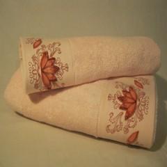 Набор бамбуковых полотенец Remzi Цветы