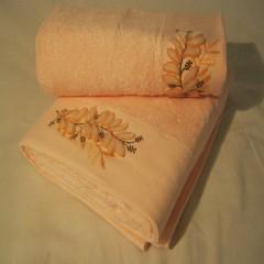 Набор бамбуковых полотенец Remzi Цветок