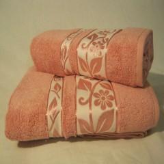 """Набор бамбуковых полотенец """"Роза после дождя"""""""