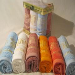 Набор бамбуковых полотенец  6 штук 30*50