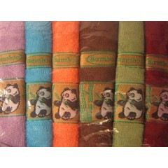 "Бамбуковое полотенце ""Панда"""