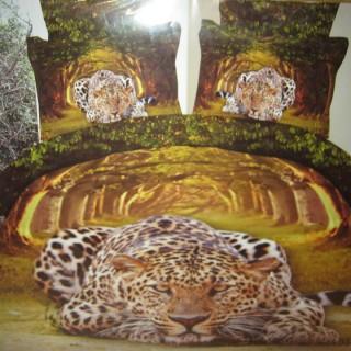 """Постельное белье """"Леопарды"""""""